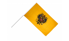 Stockflagge Russland Zar Nikolaus
