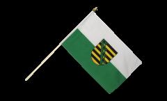 Stockflagge Sachsen - 30 x 45 cm