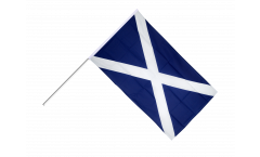 Stockflagge Schottland