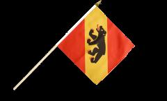 Stockflagge Schweiz Kanton Bern