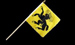 Stockflagge Schweiz Kanton Schaffhausen - 30 x 30 cm