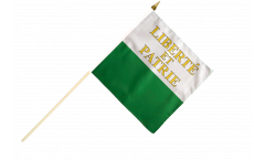 Stockflagge Schweiz Kanton Waadt