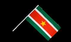 Stockflagge Surinam