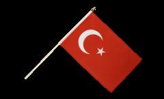 Stockflagge Türkei