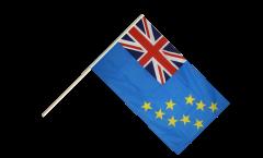 Stockflagge Tuvalu