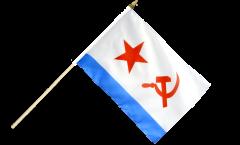 Stockflagge UDSSR Sowjetunion Marine - 30 x 45 cm
