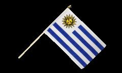 Stockflagge Uruguay - 30 x 45 cm