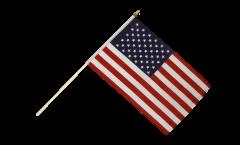 Stockflagge USA - 30 x 45 cm