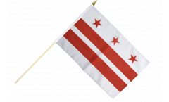 Stockflagge USA District of Columbia - 30 x 45 cm