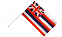 Stockflagge USA Hawaii
