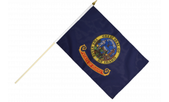 Stockflagge USA Idaho - 30 x 45 cm