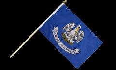 Stockflagge USA Louisiana