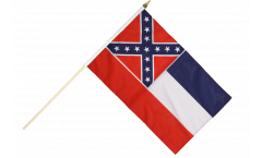 Stockflagge USA Mississippi