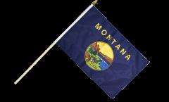 Stockflagge USA Montana - 30 x 45 cm