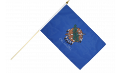 Stockflagge USA Oklahoma - 30 x 45 cm