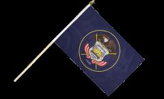 Stockflagge USA Utah - 30 x 45 cm