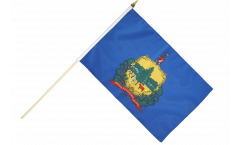 Stockflagge USA Vermont - 30 x 45 cm