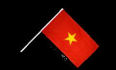 Stockflagge Vietnam