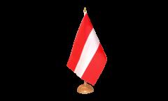 Tischflagge Österreich