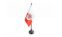 Tischflagge Österreich Tirol - 10 x 15 cm