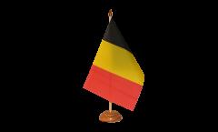 Tischflagge Belgien