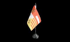 Tischflagge Belgien Lüttich Provinz - 10 x 15 cm