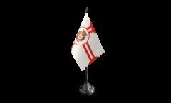 Tischflagge Brasilien Sao Paulo - 10 x 15 cm