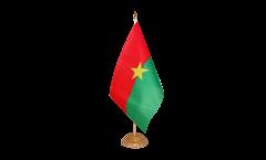 Tischflagge Burkina Faso