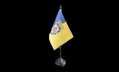 Tischflagge Chile Santiago de Chile - 10 x 15 cm