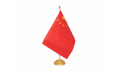 Tischflagge China