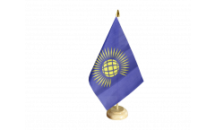 Tischflagge Commonwealth neu