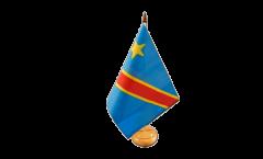 Tischflagge Demokratische Republik Kongo