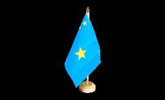 Tischflagge Demokratische Republik Kongo alt