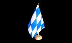 Tischflagge Deutschland Bayern ohne Wappen