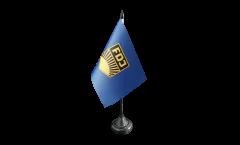 Tischflagge Deutschland DDR FDJ Freie Deutsche Jugend - 10 x 15 cm