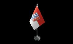 Tischflagge Deutschland Niederbayern