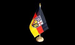 Tischflagge Deutschland Saarland