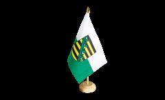 Tischflagge Deutschland Sachsen