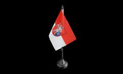 Tischflagge Deutschland Stadt Bamberg - 10 x 15 cm