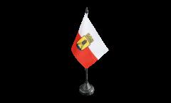 Tischflagge Deutschland Stadt Cuxhaven - 10 x 15 cm