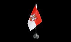 Tischflagge Deutschland Stadt Hannover - 10 x 15 cm