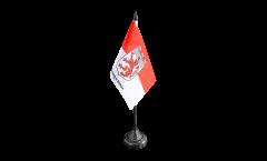 Tischflagge Deutschland Stadt Hohenlimburg - 10 x 15 cm