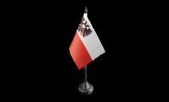 Tischflagge Deutschland Stadt Lübeck - 10 x 15 cm
