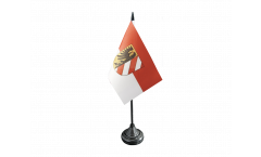 Tischflagge Deutschland Stadt Nürnberg - 10 x 15 cm