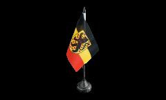 Tischflagge Deutschland Stadt Weimar - 10 x 15 cm