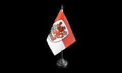 Tischflagge Deutschland Stadt Wuppertal - 10 x 15 cm