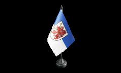 Tischflagge Deutschland Vorpommern