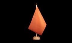 Tischflagge Einfarbig Orange