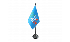Tischflagge Fanflagge Italien Forza Italia - 10 x 15 cm