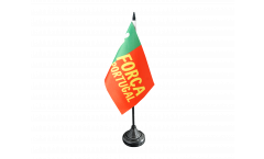 Tischflagge Fanflagge Portugal Forca